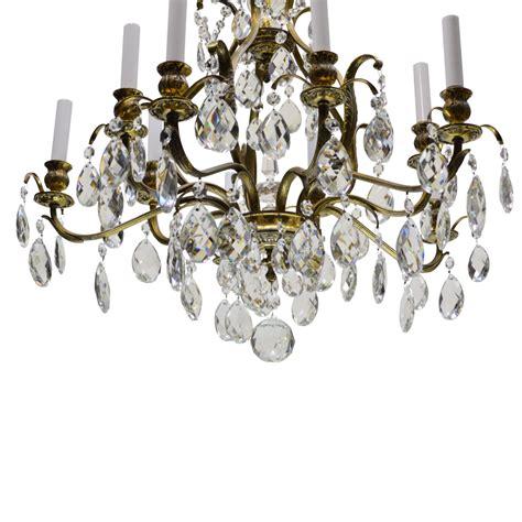 swedish chandelier vintage swedish chandelier brass 10 lights from tolw on ruby