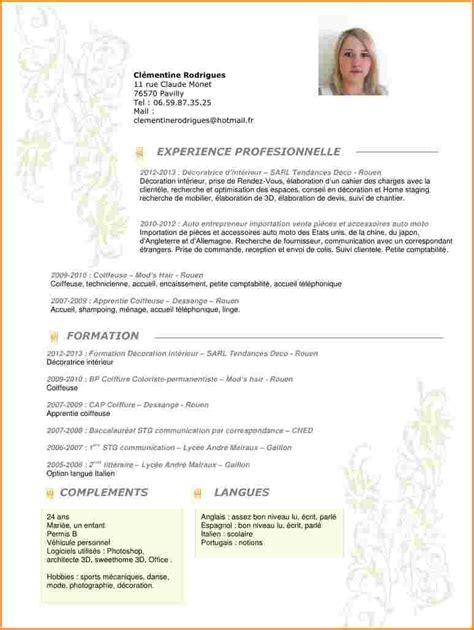 Exemple De Lettre De Motivation Coiffure 12 Cv Coiffure Modele De Facture