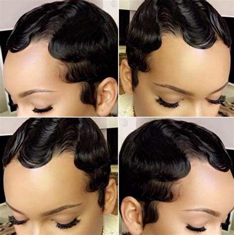 styling of freezing african hair finger waves an old school classic hair style that s