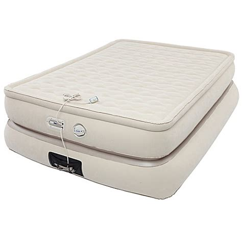 buy aerobed 174 pillowtop 24 inch air mattress with usb charger from bed bath beyond