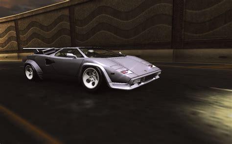 Lamborghini Countach Speed Need For Speed Underground 2 Lamborghini Countach 5000
