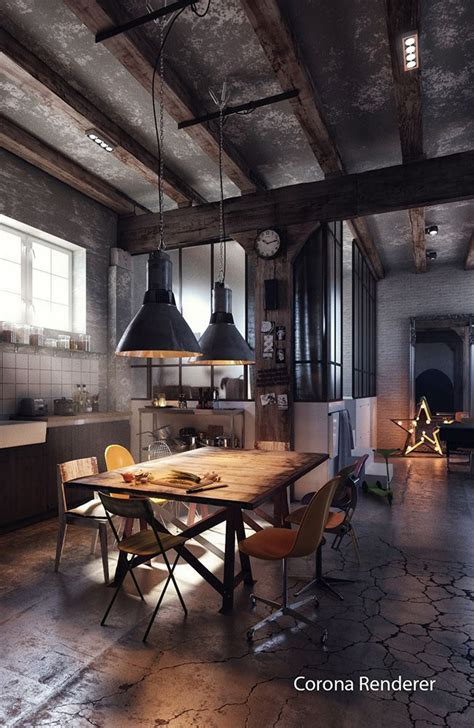 industrial home interior design best 25 industrial chic ideas on industrial