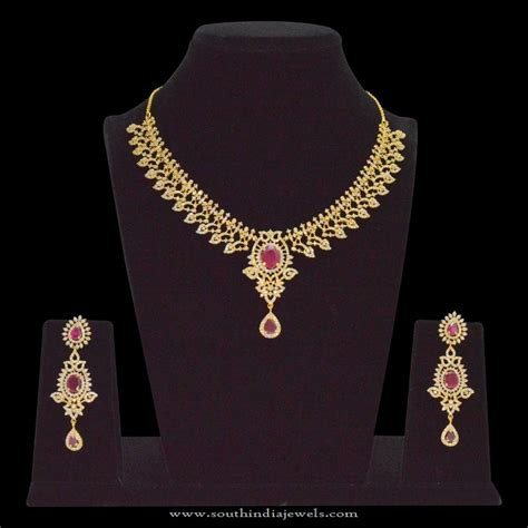 1 gram gold necklace designs page 4 of 9 south india
