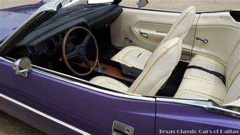 plymouth barracuda interior 1970 plymouth barracuda convertible on ebay mopar