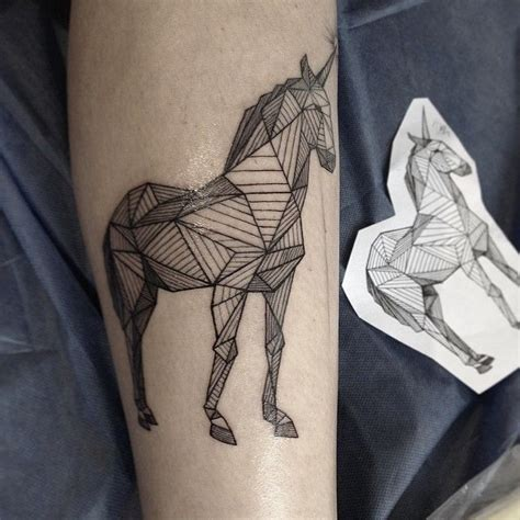 geometric tattoo horse 140 best g e o m e t r i c a l t a t t o o images on