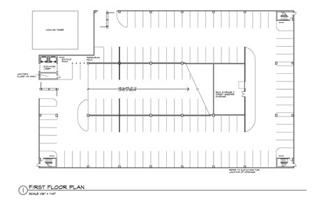 parking ramp plan submited underground garage design urban reserve guidelines
