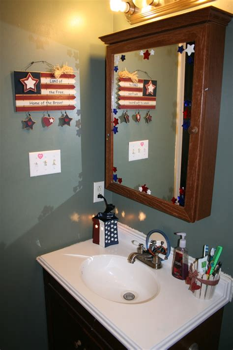 patriotic bathroom decor 65 migliori immagini su holiday bathroom decorations su pinterest decorazione per