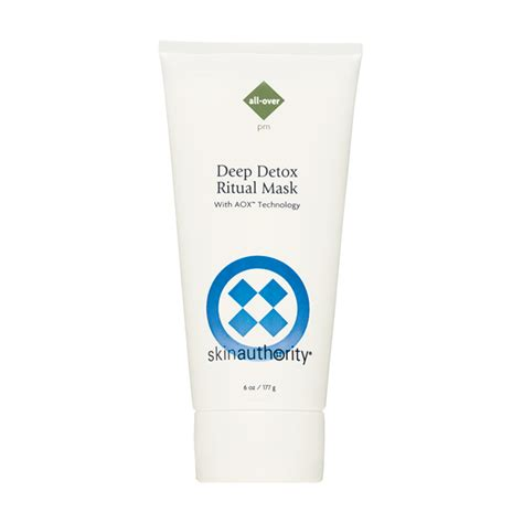 Essential Detox Silicone From The Skin by Skin Authority Detox Ritual Mask Skinstore
