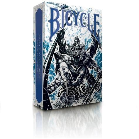 bicycle asura extremely rare poker playing cards blue deck asura extremely rare poker