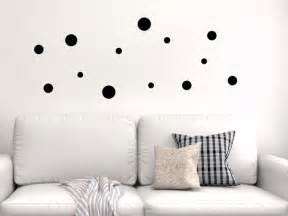 wandtattoo kinderzimmer punkte kreative klebepunkte wandtattoo dots als deko punkte