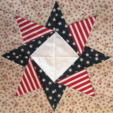 Patriotic Quilt Blocks by Such A Sew And Sew Zig Zag Flag And Other Patriotic Quilt