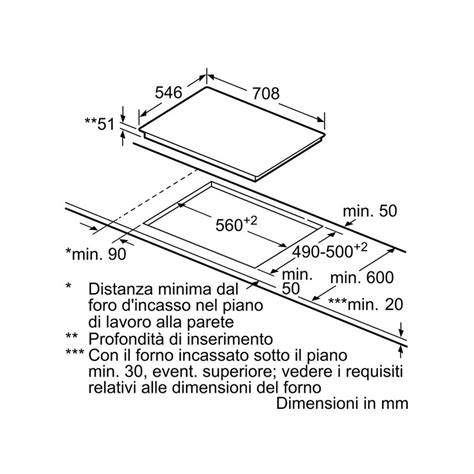 piano cottura 70 cm neff t57ts61n0 vetroceramica induzione 70 cm