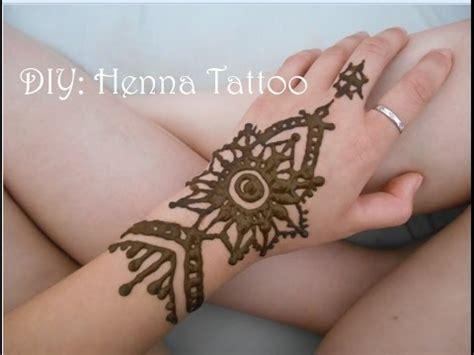 diy henna tattoo  beginners youtube