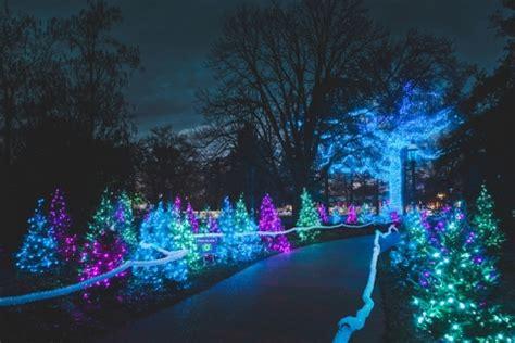 Glow Botanical Gardens by St Louis Botanical Garden Glow 2015 Oak Island Creative