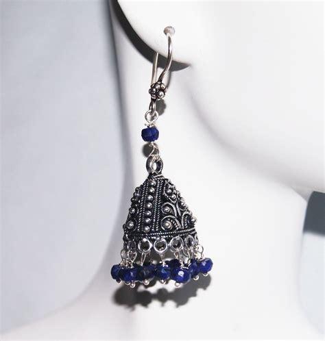 Chandelier Earrings Sapphire Chandelier Earrings Blue Sapphire Chandelier Earrings