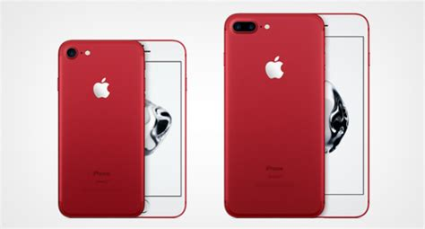 E Iphone 7 Rezistent La Apa by Iphone 7 E Iphone 7 Plus Product La Edici 243 N En Rojo Con Fines Solidarios