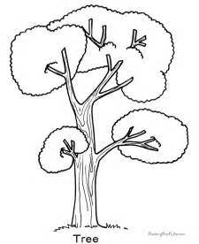 tree coloring pages printable a tree coloring pages