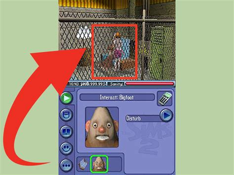 2nds warehouse how to make bigfoot appear in sims 2 on a nintendo ds 12