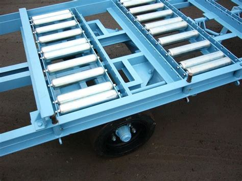 roller bed trailer model ip20tt roller bed trailer with no need for fork lift trucks or overhead