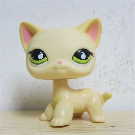 littlest pet shop cat collection short hair cats youtube littlest pet shop collection lps 733 green eye short hair