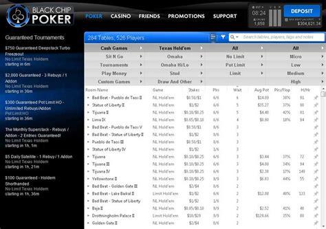 black chip poker review   bonus