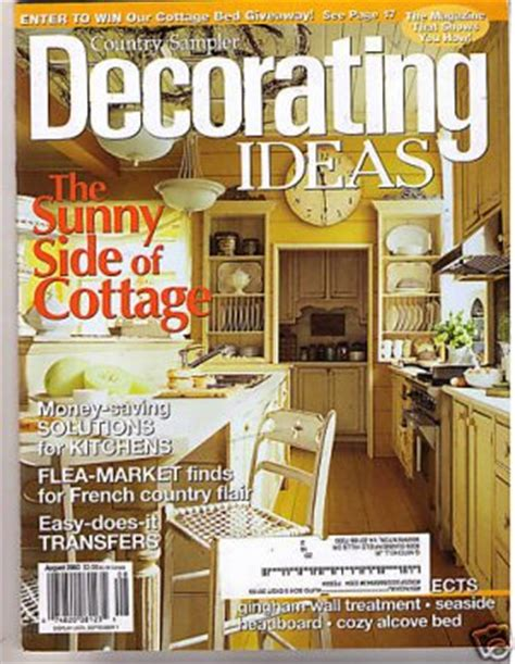 country home decor magazine country sler s decorating ideas magazine aug 2003