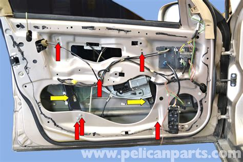 Mercedes Tech Support by Mercedes W203 Front Window Regulator Replacement