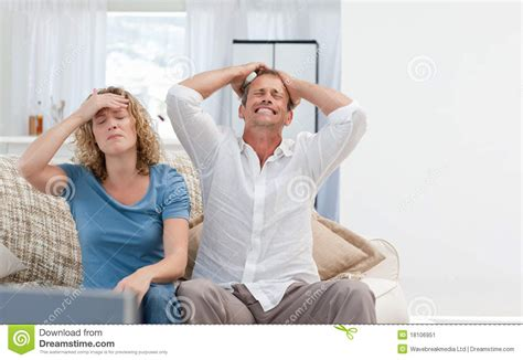 home lovers lovers watching tv in the living room at home stock image