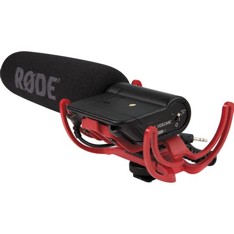 mic rode mic pro rycote rode videomic with rycote lyre suspension system videomic