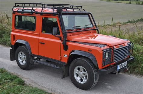 land rover defender defender 90 td5 g4 special edition for