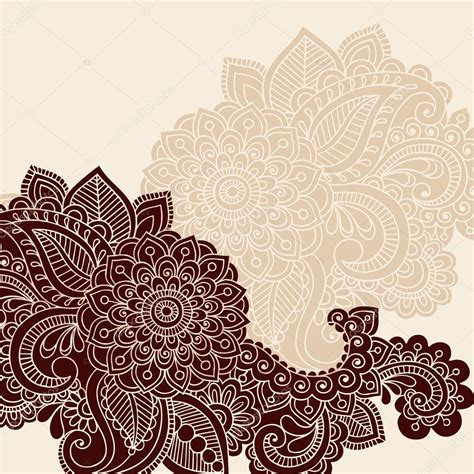 henna tattoo designs eps henna mehndi doodles vector design elements stock