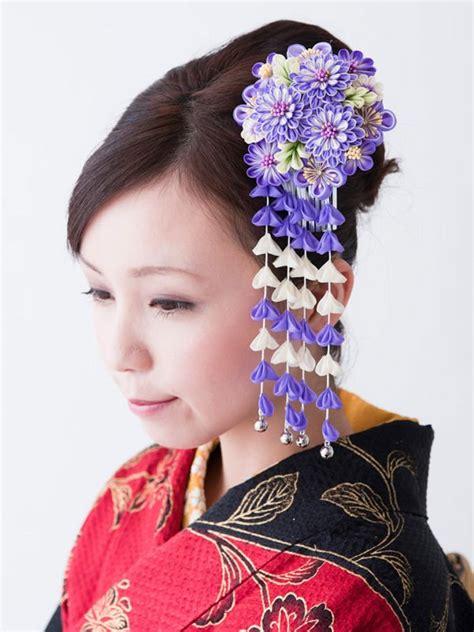 De Kimono Flower kanzashi flower japanese tsumami kanzashi 8151 in box buy kanzashi flower tsumami kanzashi