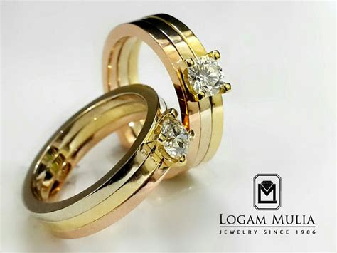 Cincin Mewah Safir Cylon Bertabur Berlian jual cincin kawin berlian crwm mj3004r tsts logammuliajewelry