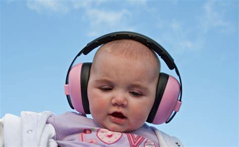 Babybanz Mini Earmuff Stripes banz baby mini muffs cheeky cherubs cloth nappies baby carriers diono carseats and more