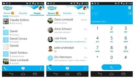 skype for android free hangouts vs skype do we a new voip chion androidpit