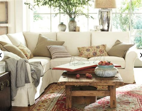 pottery barn living room living room will