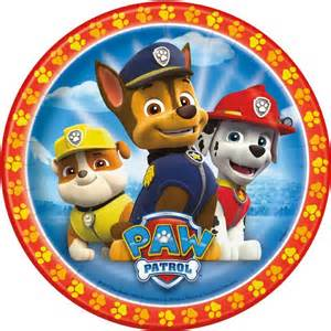 paw patrol cake image party started
