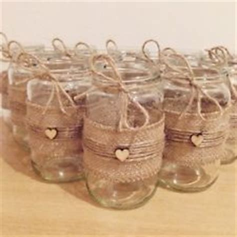 decorate a jar for 17 best ideas about hessian wedding on