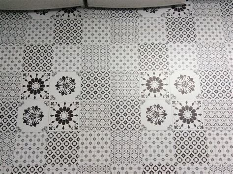 Colours Black & White Patchwork Effect Self Adhesive Vinyl