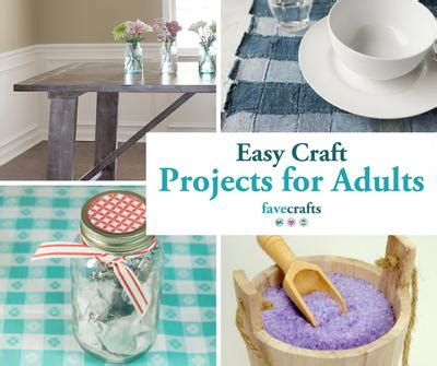 craft project for adults 44 easy craft projects for adults favecrafts