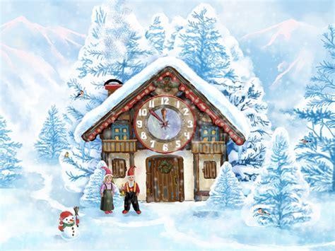 christmas house 7art christmas house clock screensaver welcome to the