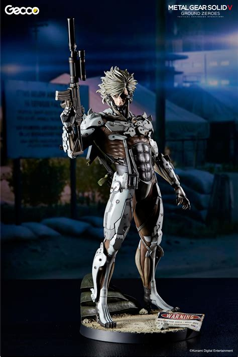 Raiden White Statue By Gecco metal gear solid v ground zeroes white raiden figure by gecco metal gear informer