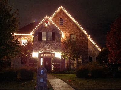 borchert landscaping christmas lights installation fort