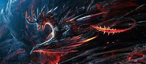 firelava dragon fantasy dragon dragon art dragon pictures