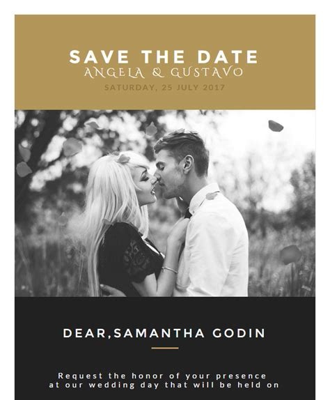 Wedding Invitation Cards By Email by Wedding Invitation Card Email Template Buy Premium