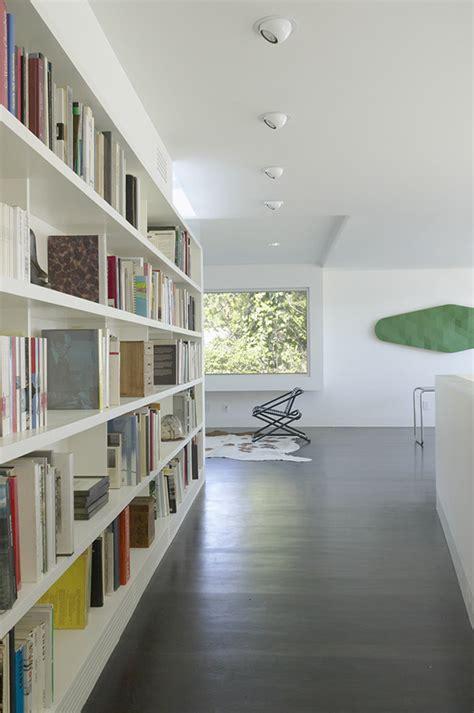 bibliotheque interiors minimalist architecture house design by johnston marklee