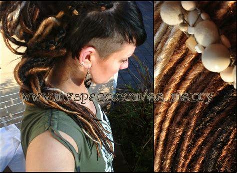 dreadlocks girl merry synthetic synthetic dreads hair merry s synthetic dreads hairy heady pinterest