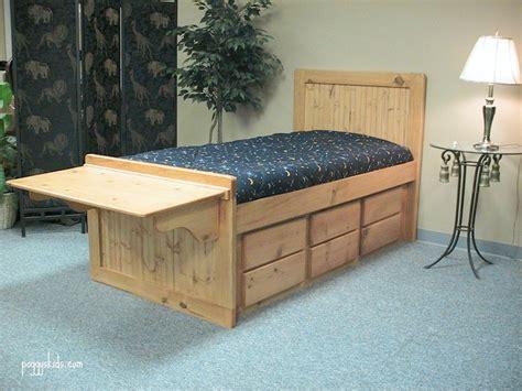 Folding Bed Desk Folding Desk Captain S Bed Custom By Chris Davis Lumberjocks Woodworking Community