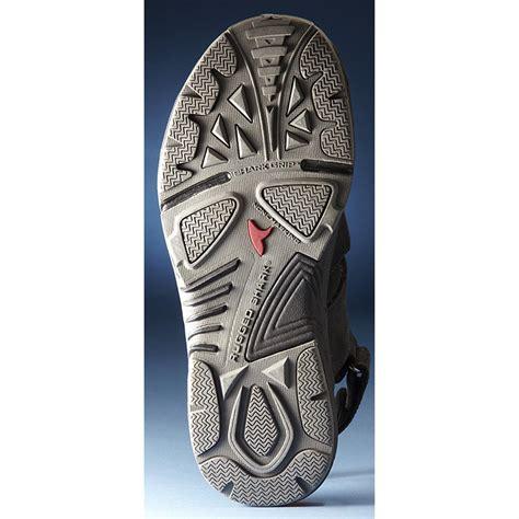 rugged flip flops s rugged shark 174 newport sandals black 203492 sandals flip flops at sportsman s guide