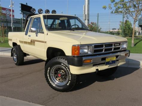 auto air conditioning service 1993 toyota xtra engine control 1986 toyota pickup 4wd 22re auto xtra cab cold a c restored arizona truck for sale photos